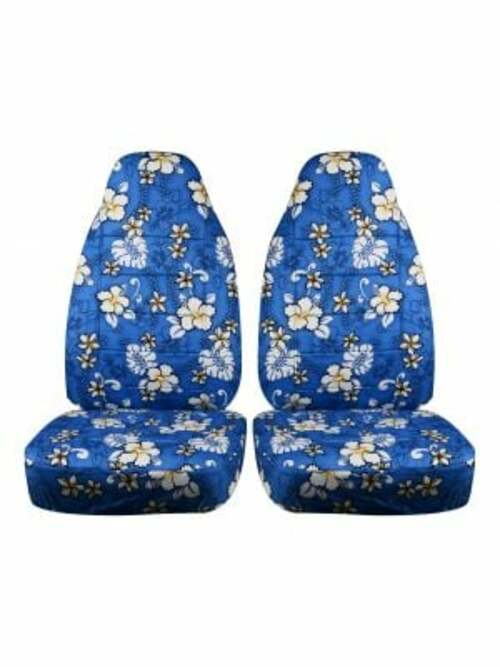 Buy Blue Hawaiian Car Seat Covers in Australia via Totally Covers