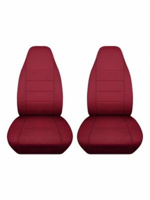 Get Burgundy Seat Covers for Cars | Totally Covers via Totally Covers
