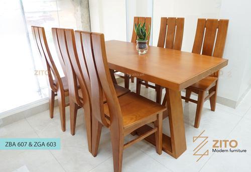 Báo giá bàn ghế ăn gỗ cao cấp, hiện đại tại Nội Thất ZITO