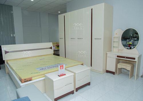 Địa chỉ mua bộ giường tủ giá rẻ tại TPHCM-Giường ngủ đẹp hiện đại