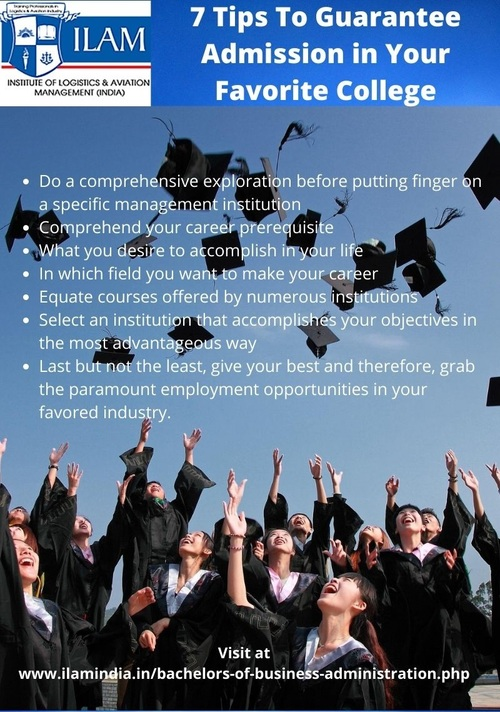 7 Tips To Guarantee Admission in Your Favorite College via ILAM - Learning Centre