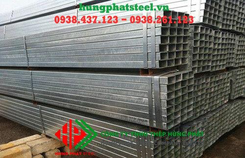 Bảng giá thép hộp mạ kẽm cập nhật mới nhất - Hùng Phát Steel