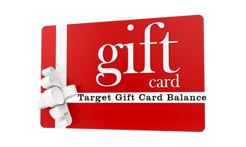 Check Balance on Target Gift Card via Dennis Walker