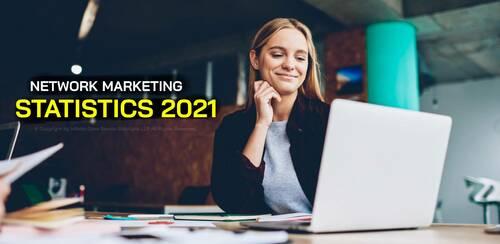 Network Marketing Stats 2021 - MLM Stats via Infinite MLM Software