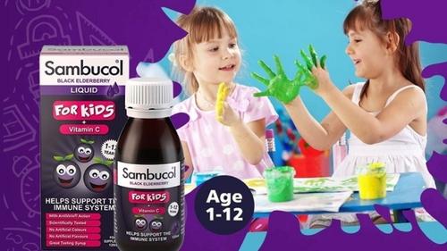 Review: Siro tăng đề kháng Sambucol dành cho trẻ có tốt không?