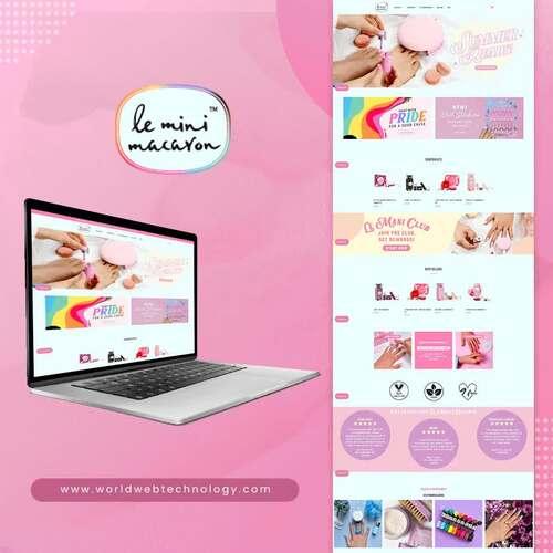 Shopify Website | Le Mini Macaron via World Web Technology Pvt. Ltd.