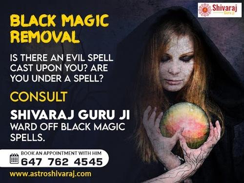 Black magic removal in Toronto - Astrologer Shiva Raj via Shivaraj Guru ji