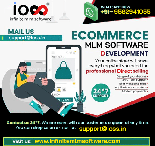E-COMMERCE INTEGRATED MLM SOFTWARE IN DIRECT SELLING!                                     Infini... via Infinite MLM Software