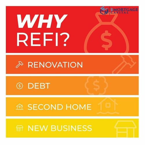The most common reasons our clients get a cash-out refinance... via Joseph Shalaby