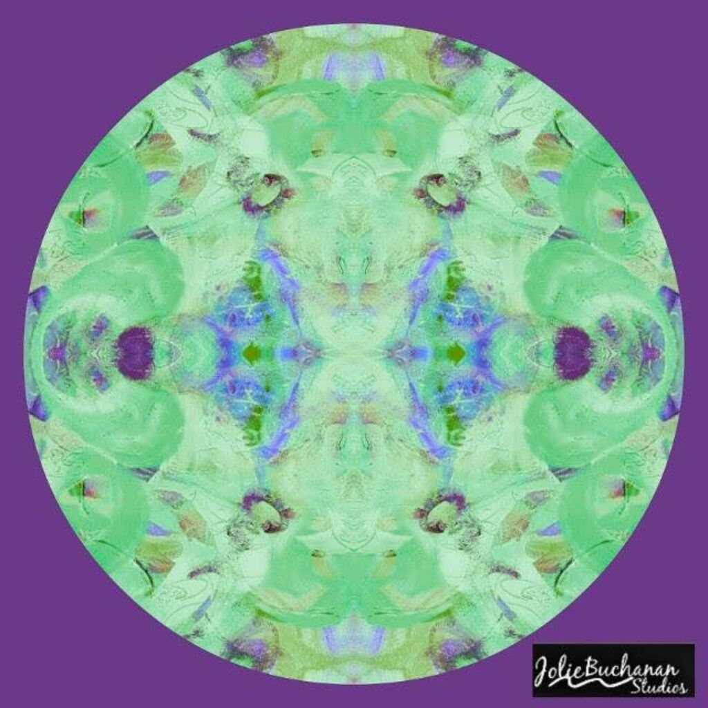 Merry Mandala by Jolie Buchanan via Jolie Buchanan