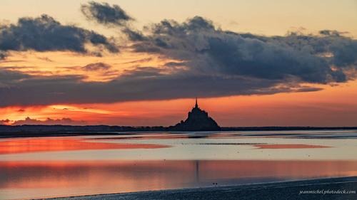 fire sunset via Jean Michel