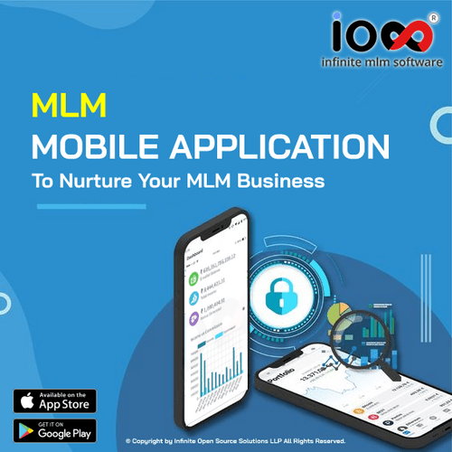 MLM Mobile App from Infinite MLM Software is the most reliab... via Infinite MLM Software