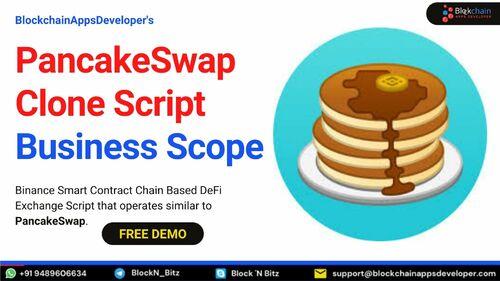 Panckeswap Clone SCript | Pancakeswap Clone Script Business ... via BlockchainAppsDeveloper