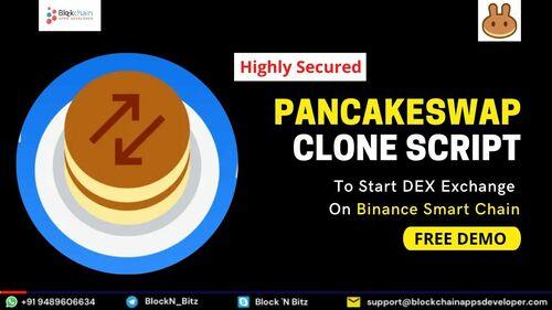 PancakeSwap Clone Script | PancakeSwap clone App Development via BlockchainAppsDeveloper