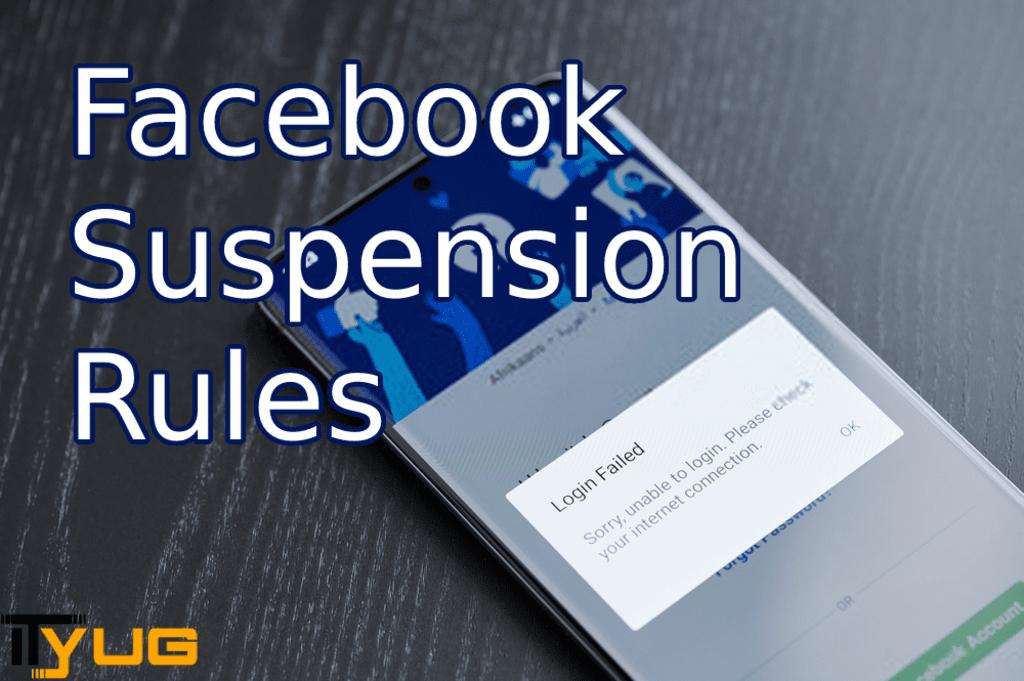 Facebook Suspension Rules via David Smith