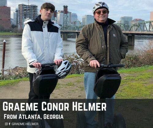 Graeme Helmer from Atlanta via Graeme Conor Helmer