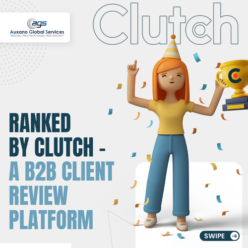 Ranking By Clutch-A B2B Client Review Platform via Auxano Global Services