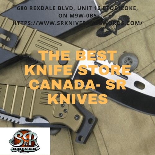 SR Knives Provides You Best Military Knives Canada via S&R Knives