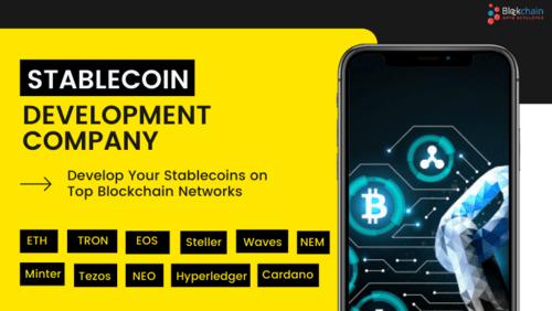 Stablecoin Development company via BlockchainAppsDeveloper