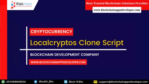 LocalCryptos Clone Script To Launch P2P Escrow Based Crypto ... via BlockchainAppsDeveloper
