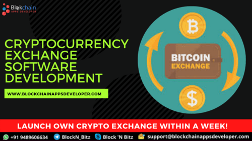 Looking to start your own cryptocurrency exchange platform?                                         ... via Sarah clarence