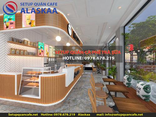 DỊCH VỤ SETUP QUÁN CAFE TRÀ SỮA ALASKAA TEL 0978.678.219