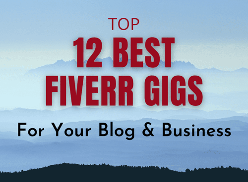 12 Best Fiverr Gigs for Your Blog & Business (Hot) - SheyiDairo