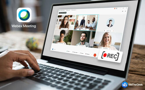 How To Record Webex Meeting in Windows 10, 8.1, 8, &7