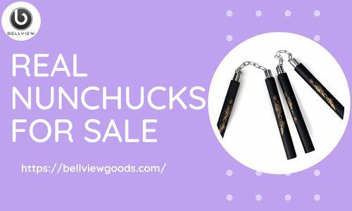 Real Nunchucks For Sale via Bellview Goods