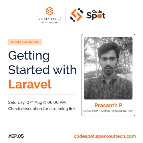 """Getting Started with Laravel."" via BlockchainX"