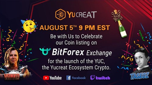Be with us to Celebrate our coin listing on Bitforex exchang... via vishalsharma