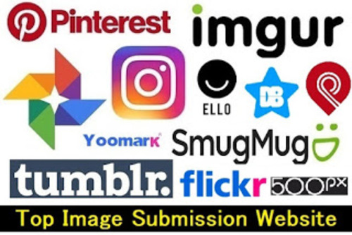 Top 5 Best Image Submission Sites List - Boost web Traffic via Anand Kumar