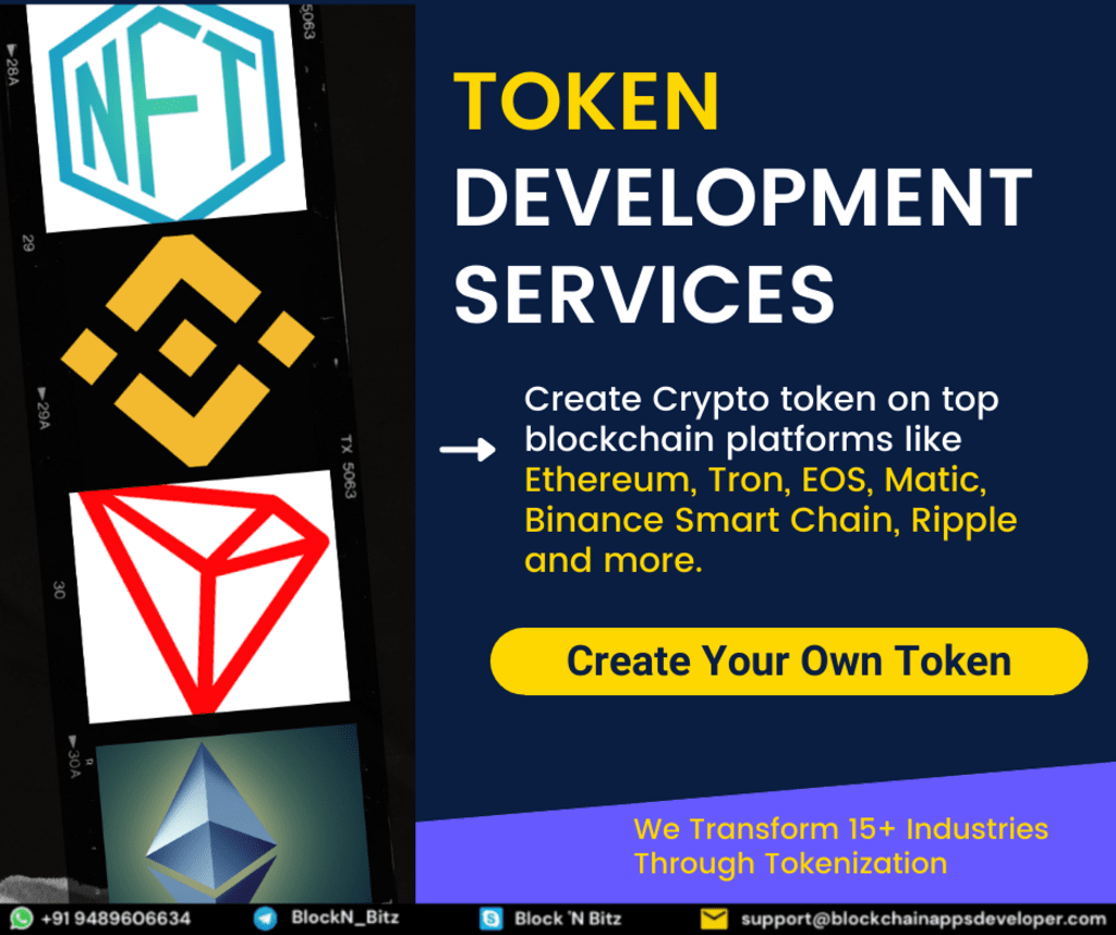 Token Development Company via BlockchainAppsDeveloper