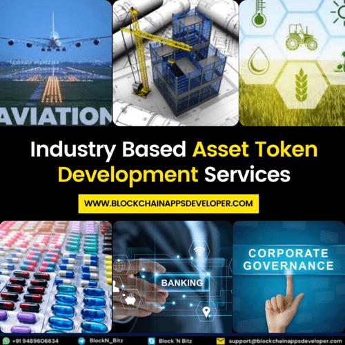 Asset Token Development Services via BlockchainAppsDeveloper