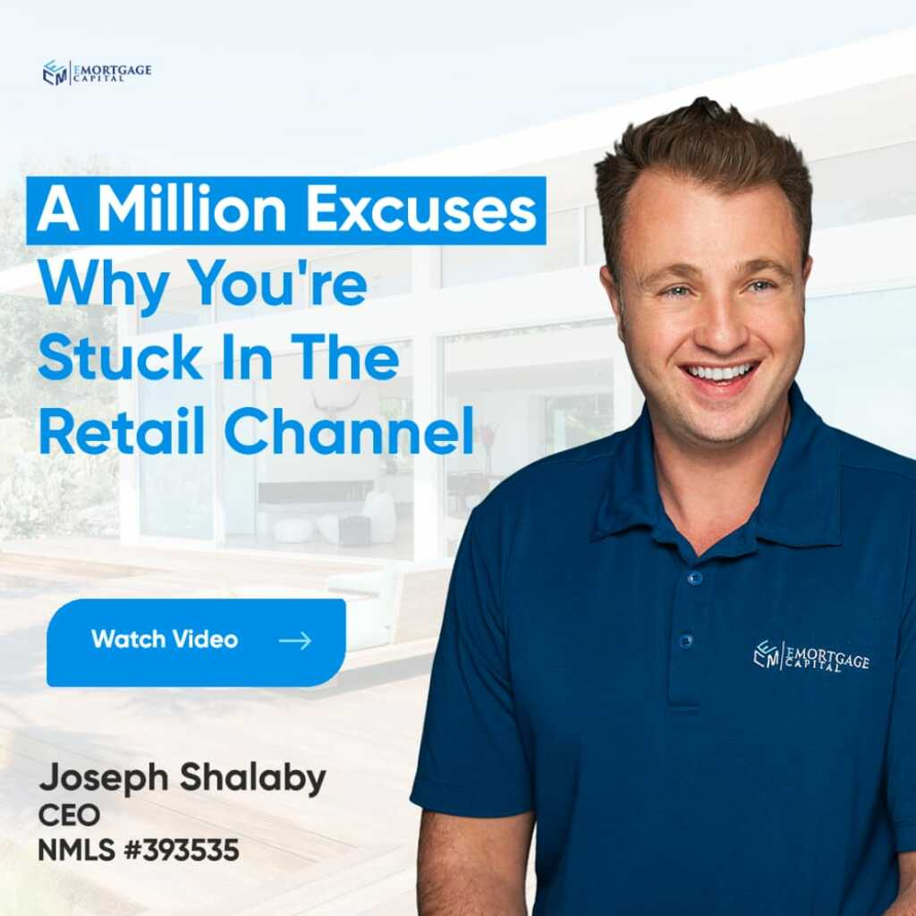 A Million Excuses Why You're Stuck In The Retail Channel via Joseph Shalaby