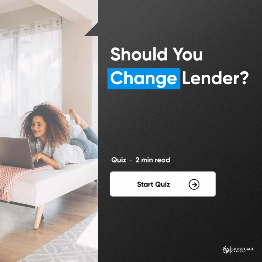 Should You Change Lender? via Joseph Shalaby