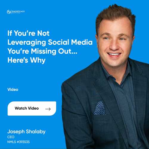If You're Not Leveraging Social Media You're Missing Out...H... via Joseph Shalaby