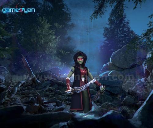 Lotha 3D Warrior Character Animation Model of 3D Modelling b... via Gameyan