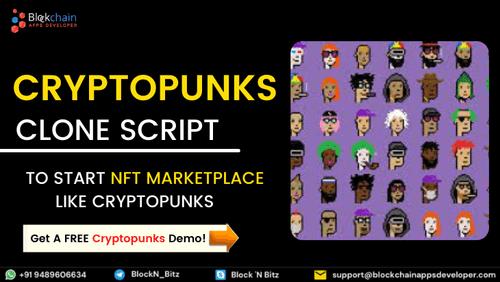 Cryptopunks Clone Script via BlockchainAppsDeveloper