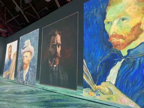 5/5 Beyond Van Gogh in Ottawa via David Leonhardt