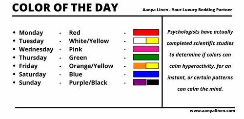 Color Of The Day via louren roy