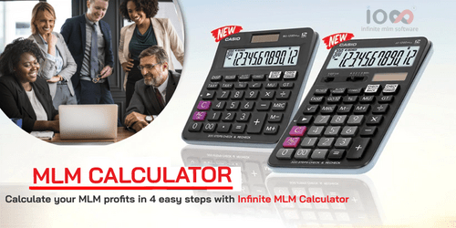 Free MLM Calculator For Calculating MLM Commissions via Infinite MLM Software