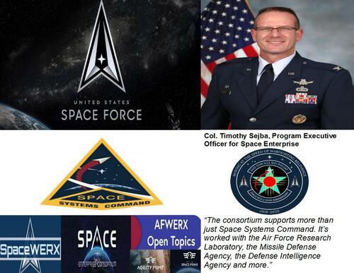 U.S. Space Force Contracting $1 Billion In Prototyping Effor... via Ken Larson