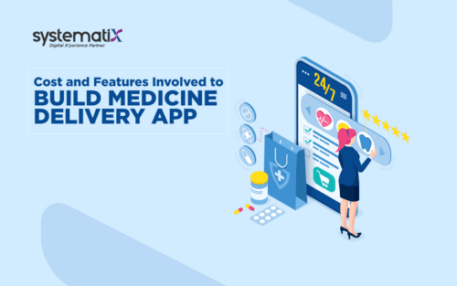 Cost and Features Involved to Build Medicine Delivery App - Systematix Infotech