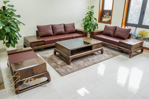 Địa chỉ mua sofa gỗ óc chó chất lượng trên thị trườngSau khi... via Nội Thất Zito VN