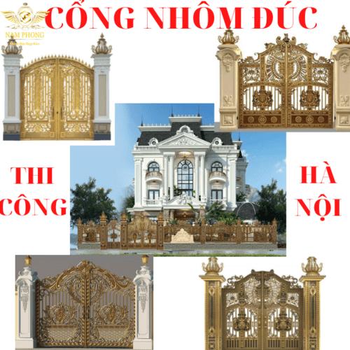 ⭐Thiết kế, thi công cổng, cửa, lan can nhôm đúc tại Hà Nội⭐                                     ... via dacsannamdinh