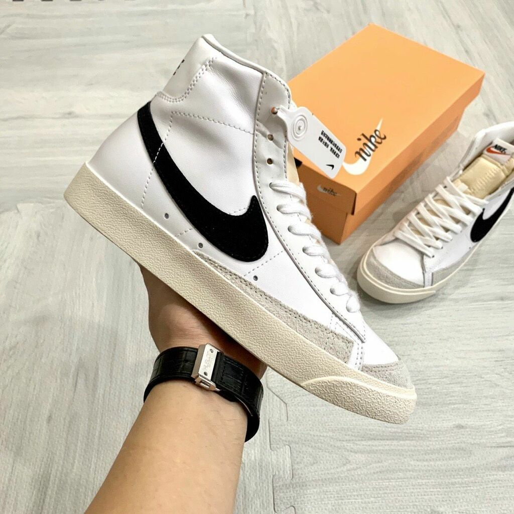 Nike mang trở lại dòng giày bóng rổ lâu đời – Nike Blazer                                         Đư... via shopgiayreplica