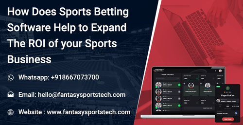 Sports Betting Software Help to Expand the ROI of your Sports Business