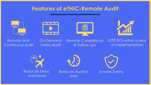 eTHIC - Remote Audit                                                                                  NCS has added remote auditing capabili... via Dineshu