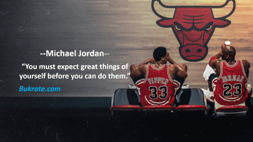 """""""You must expect great things of yourself before you can do ... via bukrate"""